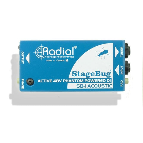 Radial StageBug SB-1 Acoustic Active Direct Box