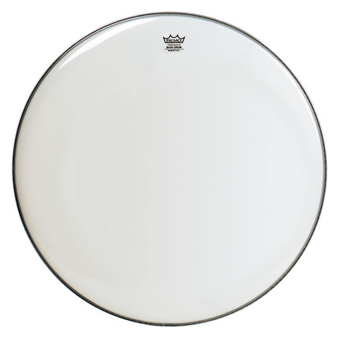 Remo 22 Inch Bass Ambassador Smooth White Drum Head