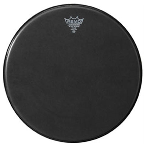 Remo 13 Inch Batter Black Suede Ambassador Drum Head