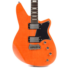 Reverend Bayonet RA90 Gloss Orange Flame Maple