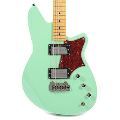Reverend Descent H90 Baritone w/Wilkinson Trem Oceanside Green