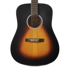 Recording King Dreadnought Matte Sunburst