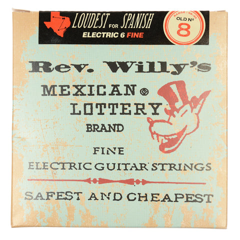 Dunlop Reverend Willy's String Set Light 8-40