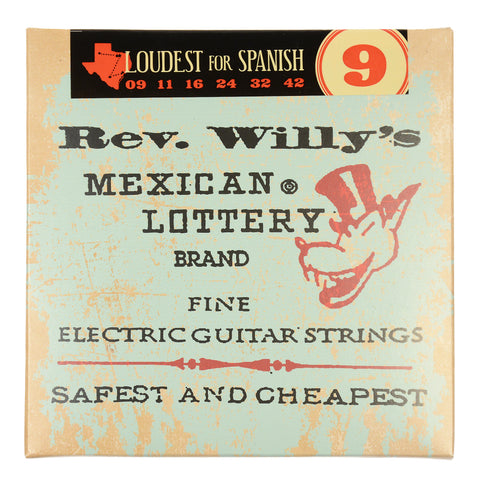 Dunlop Reverend Willy's String Set Medium/Light 9-42