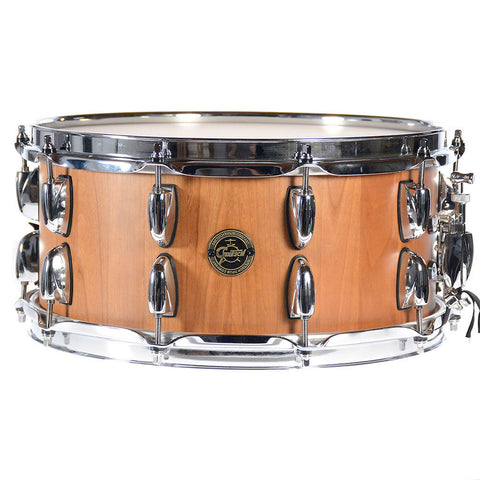 Gretsch 6.5x14 Gold Series Cherry Stave Snare Drum Natural Finish