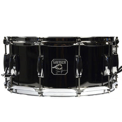 Gretsch 6.5x14 Black Nickel Over Steel Taylor Hawkins Signature Snare Drum