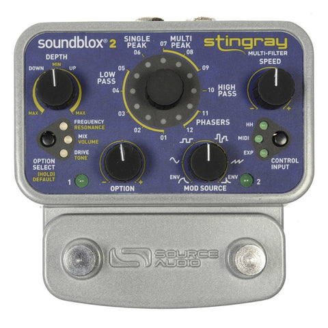 Source Audio Soundblox 2 Stingray Multi-Filter