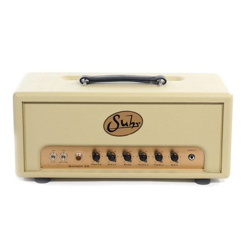 Suhr Badger 35 4xEL84 Head Cream
