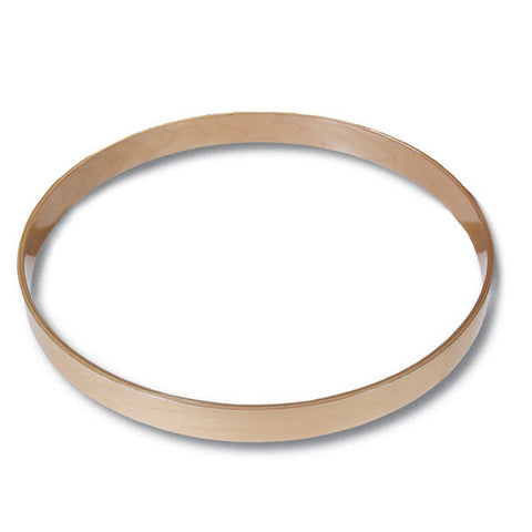 Gibraltar 20 Inch Maple Bass Drum Hoop Natural