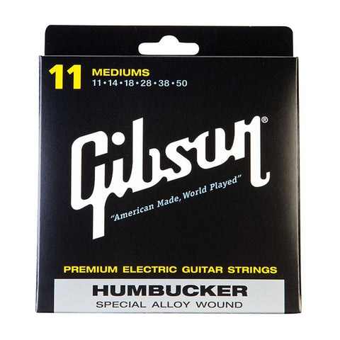 Gibson Humbucker Special Alloy Wound Electric Guitar Strings 11-50