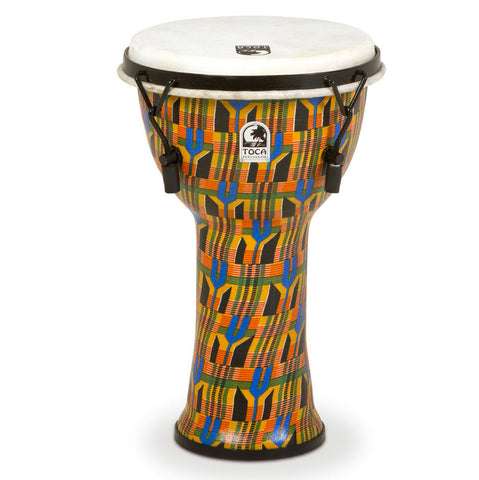 Toca 9'' Freestyle Djembe Kente Cloth