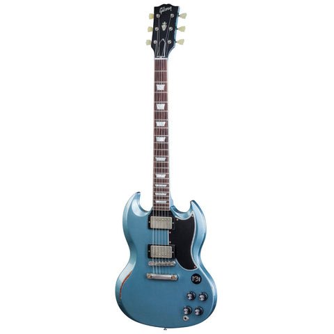 Gibson Custom SG Standard Antique Pelham Blue Aged NH Limited Edition of 25