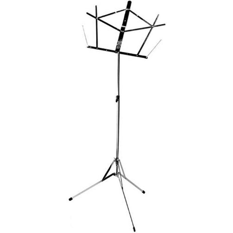 On-Stage Stands Compact Sheet Music Stand Black
