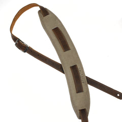 Souldier Saddle Strap Plain Brown Strap & Olive Pad