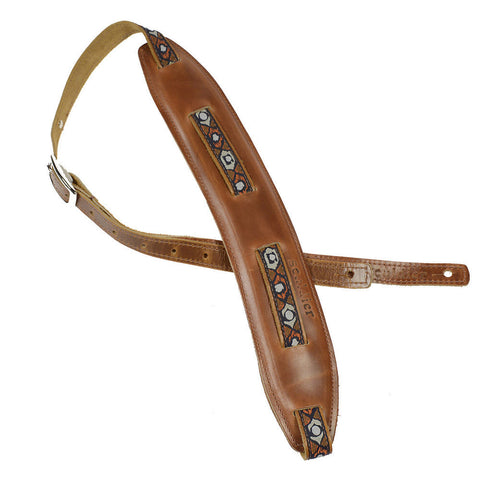 Souldier Saddle Strap Sundown w/Rust Strap & Rust Pad