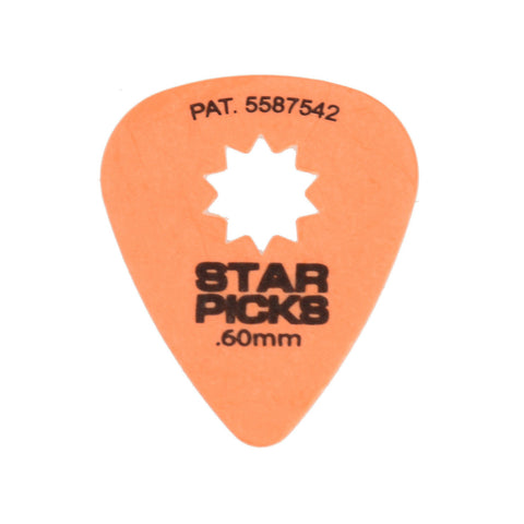 Star Picks Original Orange 0.60mm (12 pack)
