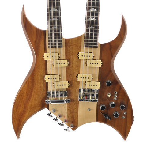 BC Rich Spinal Tap Doubleneck Bass