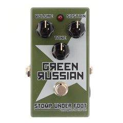 Stomp Under Foot Green Russian