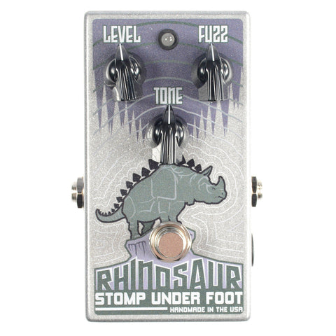 Stomp Under Foot Rhinosaur Bass Fuzz