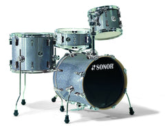 Sonor Safari 10/14/16/5x14 Shell Pack (Black Galaxy Sparkle)
