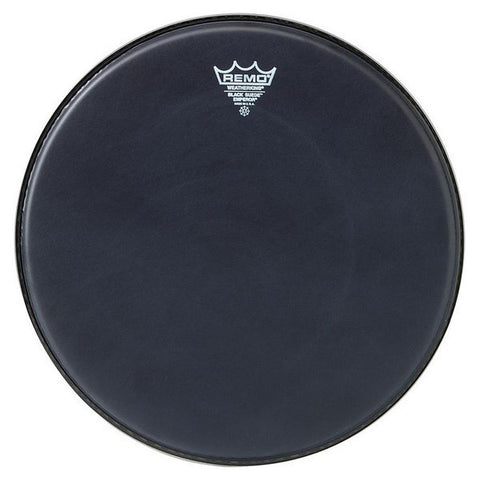 Remo 16 Inch Batter Black Suede Emperor Drum Head