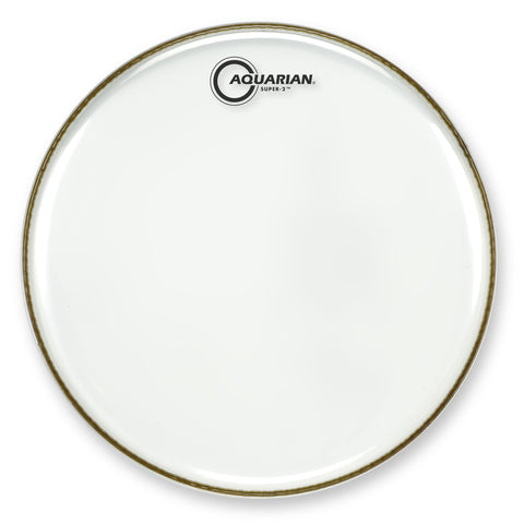 Aquarian 10 Inch Super 2 Clear Batter Head