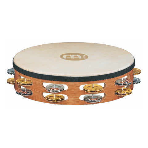 Meinl Headed Recording-Combo Wood Tambourine 2 row version