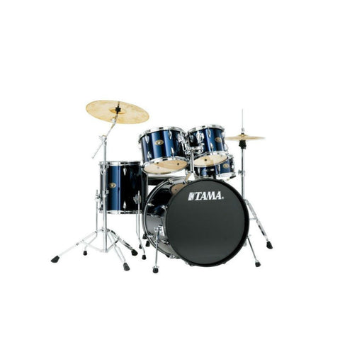 Tama Imperialstar 5pc Drum Kit with Hardware & Cymbals Midnight Blue