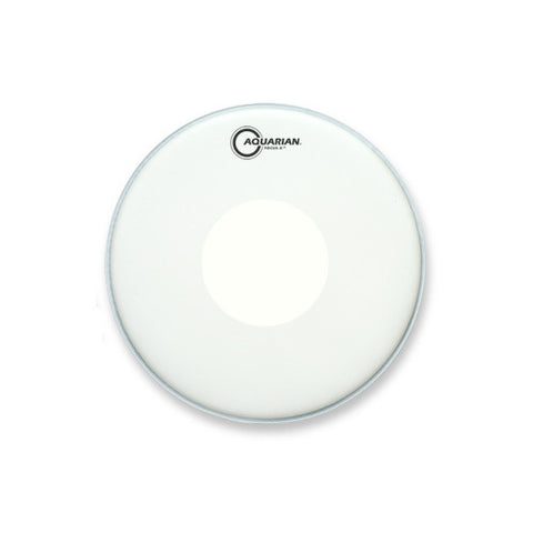 Aquarian 14 Inch Focus X Coated With Reverse Power Dot Drum Head