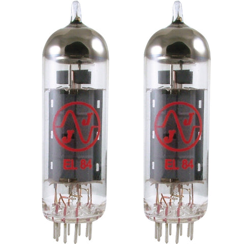 JJ EL84 Power Tube Matched Duet