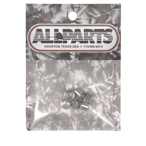 Allparts Eyelet Bushings - Nickel