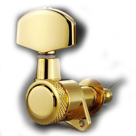 Allparts Schaller 3X3 Gold Locking Tuners