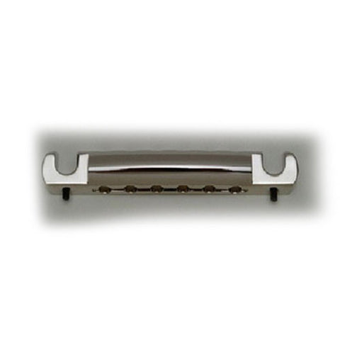 Allparts Featherweight Stop Tailpiece - Nickel