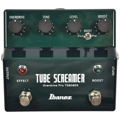 Ibanez TS808DX Tube Screamer Pro Deluxe w/Booster NEW