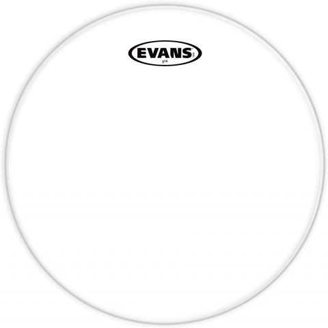 Evans 13 Inch G14 Tom Head Clear