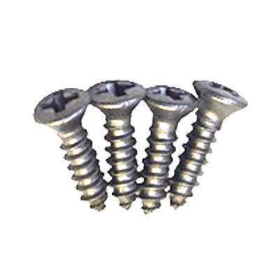 TV Jones EM2 Ring Screws (4 Pack) Stainless Steel