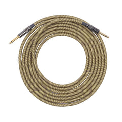 Lava Vintage Tweed 1/4 Inch Instrument Cable 15' Straight-Straight