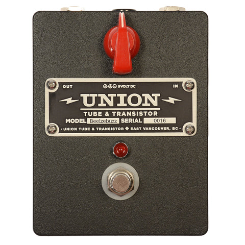 Union Tube & Transistor Beelzebuzz Distortion