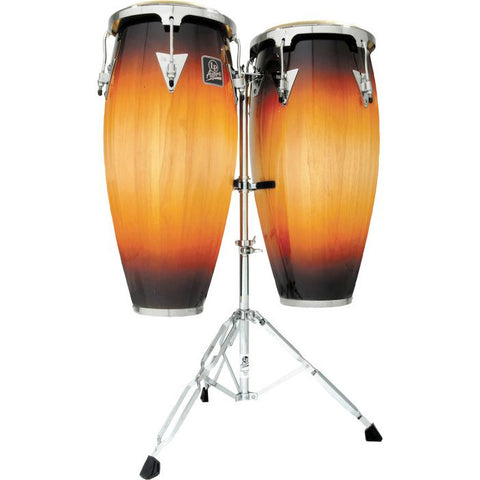 LP 10 & 11 Conga Set with double stand - Vintage Sunburst