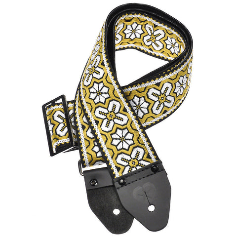 Souldier Guitar Strap - Greenwich Yellow Layla (Vinyl)