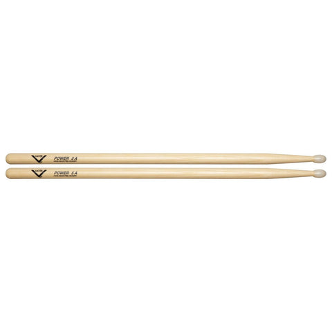 Vater Hickory Power 5A Nylon Tip VHP5AN Drumsticks
