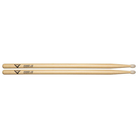 Vater Hickory Power 5B Nylon Tip VHP5BN Drumsticks