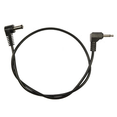 Voodoo Lab 3.5mm Mini Plug Positive Tip A/A 18 Inch Pedal Power Cable