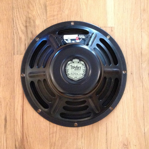 Weber Vintage Series 10A125-O AlNiCo Speaker 10 Inch 8 OHM 30W