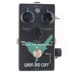 "Wren and Cuff Pickle Pie ""B"" Hella Bass Fuzztortion w/Mod Switch Black/Green (CME Exclusive)"