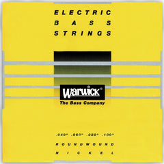 Warwick Strings Yellow Nickel 4-String Medium Light 40-100