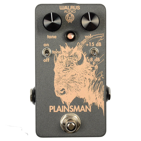 Walrus Audio Plainsman JFET Dual Stage Clean Boost
