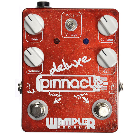Wampler Pinnacle Deluxe Distortion with Gain Boost Switch