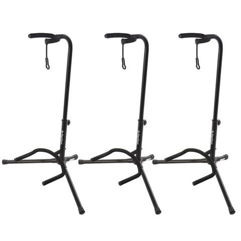 On Stage Stands Classic Guitar Stand 3-Pack
