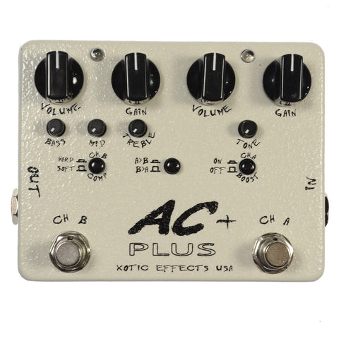 Xotic AC Plus 2-Channel Overdrive
